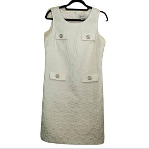Liz Claiborne White Sheath Dress